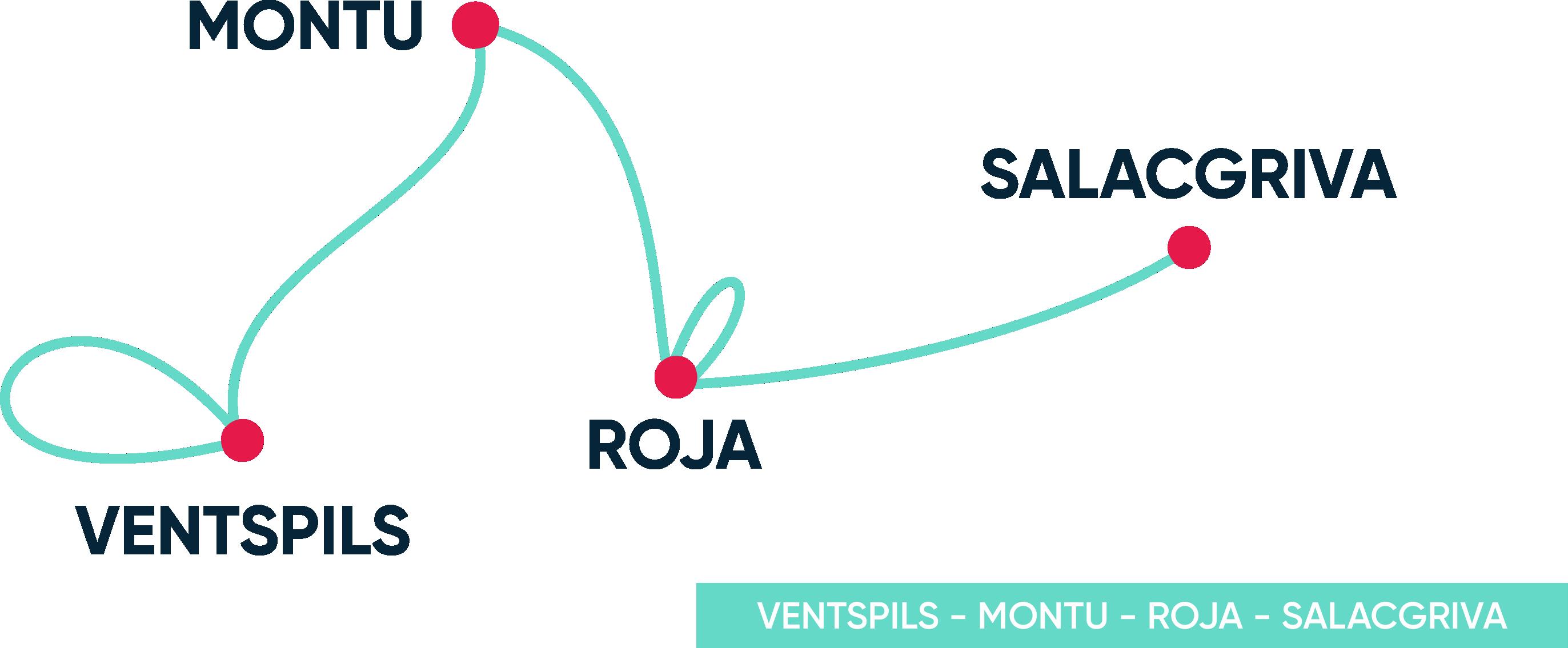 Gulf of Riga Regatta 2020 Map
