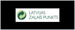 Latvijas Zalais Punkts Logo